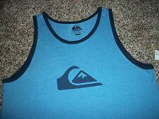 e24c0a2b7bc15 item 4 QUIKSILVER New NWT Mens Sleeveless Tank Top Shirt Blue Logo MEDIUM  LARGE XL -QUIKSILVER New NWT Mens Sleeveless Tank Top Shirt Blue Logo  MEDIUM LARGE ...