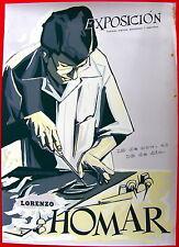 Rafael Tufino Lorenzo Homar Exposicion 1960s Poster Serigraph ICP Puerto Rico