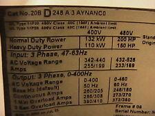 Allen Bradley  Power Flex 700 150 hp  various parts
