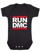 RUN DMC LOGO - RAP HIP HOP MUSIC - Baby Grow Bodysuit