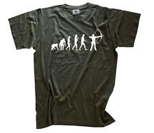 Standard Edition Bogenschütze Bogenschießen Pfeil Evolution T-Shirt S-XXXL neu