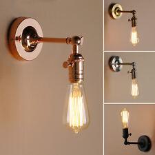 Industrial Edison Style Fer Mansarde Rustique Applique Lampe Lanterne Murale