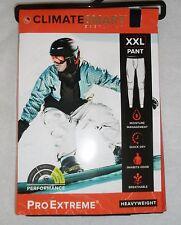 ClimateSmart Pro Extreme Heavyweight Base Layer Pants XXL 2XL Navy Black New NWT