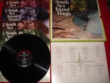 1968 rca collector set Reader's Digest 4lp SOUTH SEA ISLAND MAGIC 48 Hawaiian