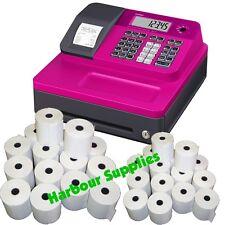 TILL ROLLS TO FIT - Casio SE-G1 Pink Cash Register SEG1 SEG-1 SE G1