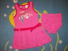 Minnie Mouse SunDress Infant Girls Sz 12, 18 Months Disney Baby Strawberry NWOT