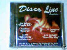 CD DISCO LINE COMPILATION CORONA ICE MC J.T. COMPANY