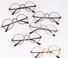 Clear lens Fashion Retro Vintage Style Circular Round Sunglasses Unisex!!