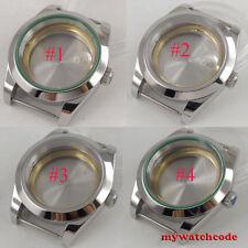 40mm sterile sapphire glass automatic men Watch Case fit 2824 2836 8215 Movement