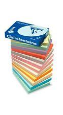 A4 QUALITY 80gsm CLAIREFONTAINE LIGHT & PASTEL COLOUR PAPER CRAFT PRINTER COPIER