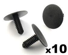 10x HONDA TAPPETO INTERNO, FODERA Boot, schienale e plastica Trim panel Clip