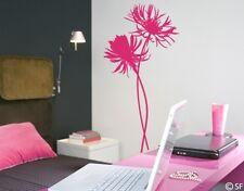 Wandtattoo Tattoo Blumen Blume Centaurea Schlafzimmer Wohnzimmer Flur uss334