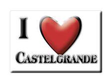 CALAMITA BASILICATA FRIDGE MAGNET MAGNETE SOUVENIR LOVE CASTELGRANDE (PZ)