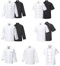 Kochjacke Bäckerjacke Kochkleidung Koch Gastronomiekleidung Berufsbekleidung Neu