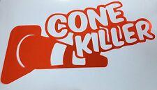 Cone Killer Autocross Macbook Sticker Decal Car Vinyl JDM illest iPad Stance