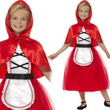 Disfraz De Lujo De Red Riding Hood Cuento de Hadas Niños Tradicional Libro Semana Smiffy 22496