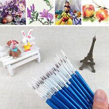 10pcs/lot Hand-painted Hook Line Pen Drawing Art Pen Paint Brush Art Supplies