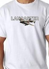 Lancaster Bomber T Shirt 100% Cotton  FREE UK P&P Aircraft WW2 War
