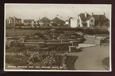 Sussex BOGNOR REGIS Sunken Gardens West End RP PPC