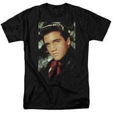 Elvis Presley T-Shirt Dreamy Portrait Black Tee