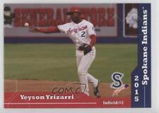 2015 Grandstand Spokane Indians #2 Yeyson Yrizarri Rookie Baseball Card