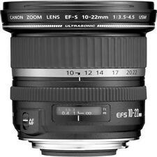 CANON EF-S 10-22 mm f/3.5-4.5 USM LENS - EFS 10-22mm 1:3.5-4.5