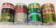 Rico Paper Tape Christmas set of 4 rolls My Memo semi transparent RRP 10.00