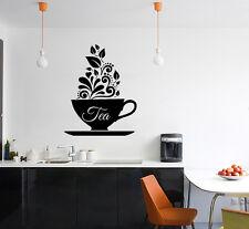 tazza di tè - Design - Caffè - INSEGNA NEGOZIO SEGNALETICA ARTE decalcomania
