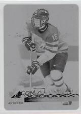 2017 Upper Deck Team Canada Juniors Printing Plate Black #72 Jonathan Smart Card