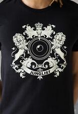 Junglist T Shirt Neurofunk Jungle DnB DJ Amen Drum and Bass & n Printed Tee Mens