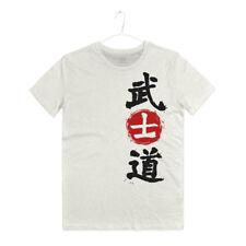 Maglietta Arti Marziali Samurai Giapponese Bushido T-shirt Man Japan Hagakure