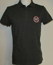 Mens Helly Hansen 79171 Work/Wear Dark Grey Polo Shirt Various Sizes BNWT