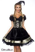 Costume Femmes bavarois robe noire Carnaval oktoberfest fashion shop uy 13035