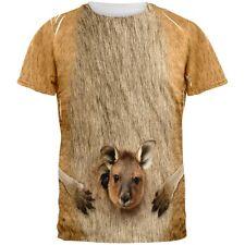 Halloween Kangaroo Costume All Over Adult T-Shirt