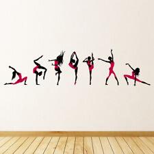 Roze dansers Balletdans Muursticker WS-47527