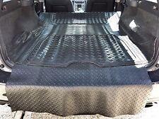 3pc boot liner load mat bumper protector Volvo V70 estate 07-16 natural rubber
