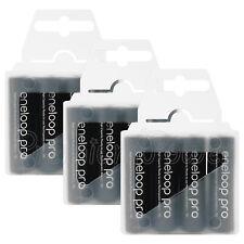 Panasonic Eneloop PRO AA batteries 2500 mAh Rechargeable Ni-MH BK-3HCDE x 4 8 12