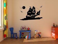Wandtattoo Piraten Schiff Pirat Wandaufkleber Kinder