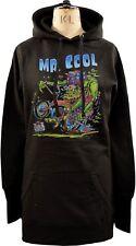 Sudadera con capucha para mujer Vestido señor Cool Monstruo Casco para bicicleta Chopper cuernos horror Fink S-XL