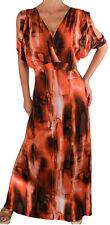 MC@ Funfash Plus Size Women Sexy Black Long Maxi Dress 1x 2x 3x XL Made in USA