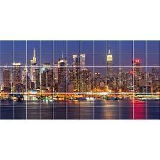 Autocollant Stickers carrelage new york - Dimension du stickers : 60x120 cm Ref