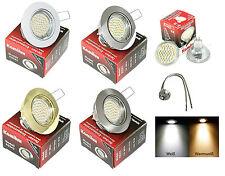 LED Projecteur Encastrable Plafond Lisa 12V MR16 SMD 3 watt = 25 Watt