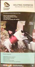 NUOVO Dog Harness. Help LIFT DOG IN AUTOMOBILE-NO rampa inclinata. spinale feriti / dolori reumatici CANI