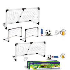 Niños Grandes 2 en 1 Fútbol Balonpié Deportes al Aire Libre jugar divertidos bomba de bola de correos de meta neto