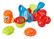 9-teiliges Sandspielzeug Set Strandspielzeug Sandeimer Sandsieb für Sandkasten