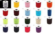 Gummikordel 3mm -verschiedene Farben- Hutgummi Gummi elastisch Kordel Gummilitze