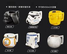 Disney Star War Mug Cup Limited Product Darthvader R2D2 BB8 C-3P0 Stormtroop New