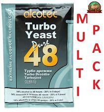 Alcotec 48 turbo pure super yeast alcohol spirit, wine, beer FAST P&P UK