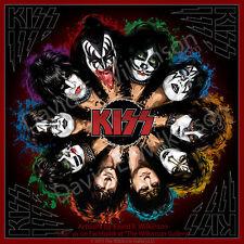 "Kiss ""Komplete Kisstory"" Art Giclee' Album Poster Print by David E. Wilkinson"