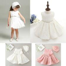 Vestito Bambina Abito Cerimonia Battesimo 0-24 Mesi Girl Flowers Dress CDR049B